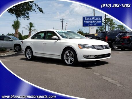 2014_Volkswagen_Passat_TDI SEL Premium_ Wilmington NC