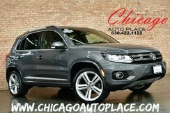2014_Volkswagen_Tiguan_R-Line - 1 OWNER CLEAN CARFAX NAVIGATION BACKUP CAMERA PANORAMIC ROOF KEYLESS GO BLACK LEATHER HEATED SEATS SPORT STEERING WHEEL_ Bensenville IL