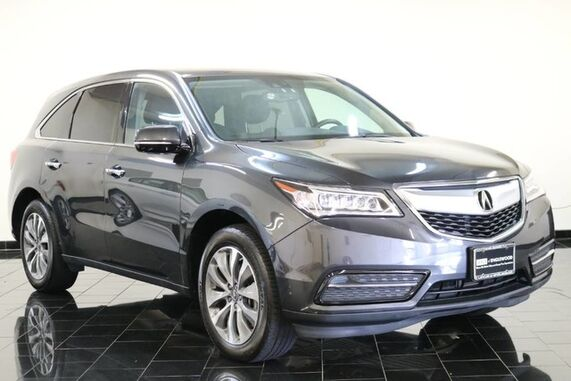 2015_Acura_MDX_SH-AWD 4dr Tech Pkg, 3rd Row Seating, Navigation System, Back-up Camera, Leather seating, Moonroof, Heated Seats,_ Leonia NJ
