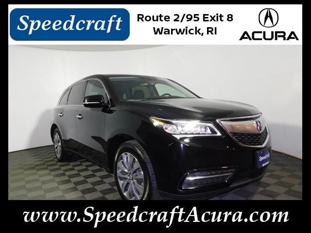 Acura MDX SHAWD With Technology Package West Warwick RI - Acura mdx package comparison