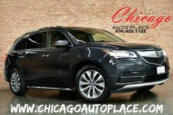 2015_Acura_MDX_TECH PACKAGE - AWD NAVIGATION MULTI-VIEW BACKUP CAMERA BLACK LEATHER HEATED SEATS SUNROOF 3RD ROW SEATING_ Bensenville IL