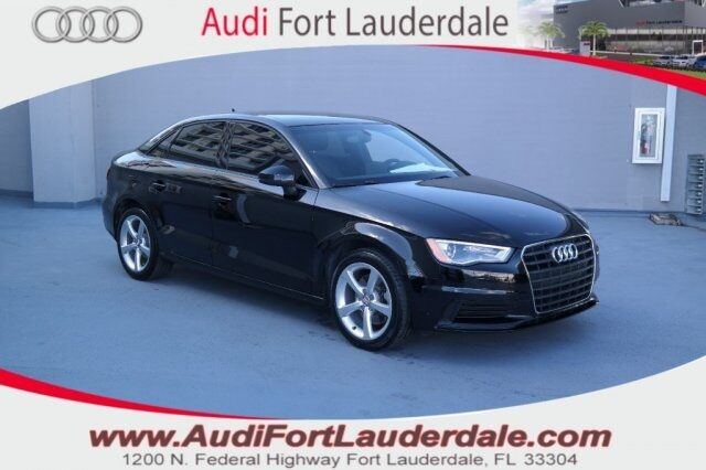 2015 audi a3 1 8t premium fort lauderdale fl 24978133. Black Bedroom Furniture Sets. Home Design Ideas