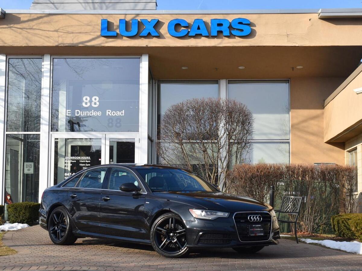 2015_Audi_A6_3.0L TDI Premium Plus Sport Nav Quattro MSRP $61,375_ Buffalo Grove IL