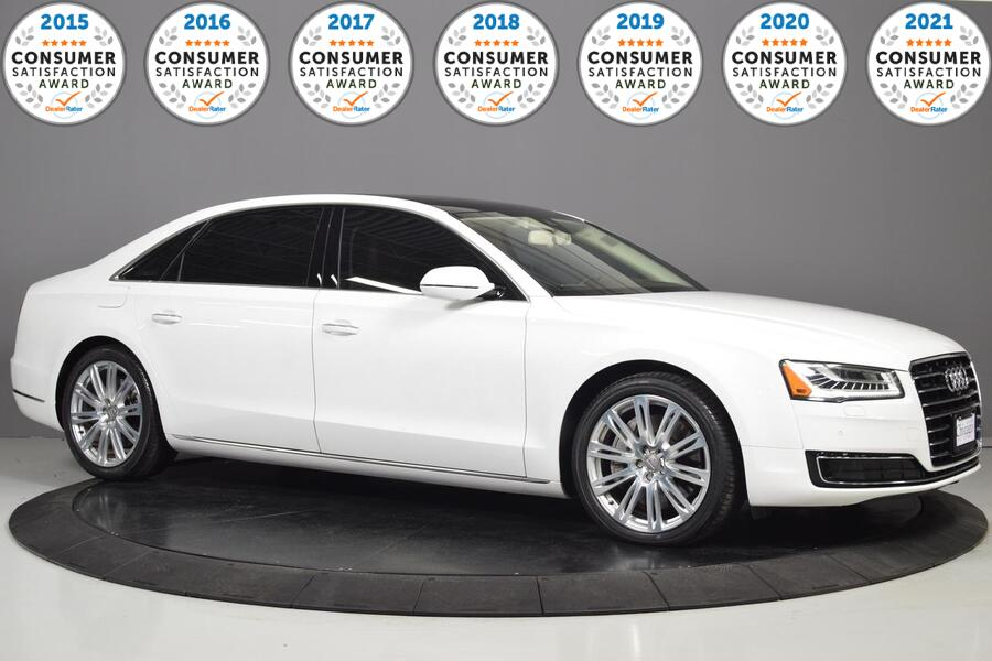 2015_Audi_A8 L_3.0T Brand New tires!_ Glendale Heights IL