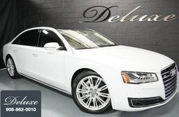 Audi A8 L 4.0T Quattro Sedan, Premium Package, Driver Assistance Package, Navigation System, Rear-View Camera, Ventilated Leather Seats, Panorama Sunroof, 20-Inch Alloy Wheels, 2015