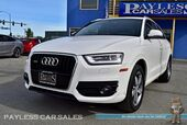 2015 Audi Q3 2.0T Premium Plus / Quattro AWD / Power & Heated Leather Seats / Panoramic Sunroof / Bluetooth / Keyless Entry / Push Button Start / Low Miles / 1-Owner