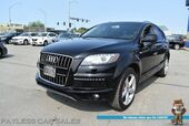 2015 Audi Q7 3.0T S-Line Prestige / AWD / Heated & Cooled Leather Seats / Navigation / Panoramic Sunroof / Bose Speakers / 3rd Row / Seats 7 / Bluetooth / Back Up Camera / Keyless Entry & Start / Tow Pkg