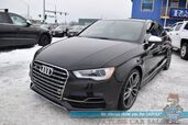 2015 Audi S3 2.0T Premium Plus / AWD / Driver Assist Pkg / Performance Pkg / Heated Leather Seats / Bang & Olufsen Speakers / Navigation / Sunroof / Blind Spot Alert / Bluetooth / Back Up Camera / 31 MPG