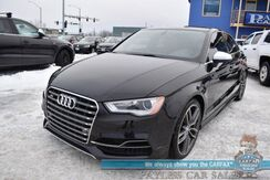 2015_Audi_S3_2.0T Premium Plus / AWD / Driver Assist Pkg / Performance Pkg / Heated Leather Seats / Bang & Olufsen Speakers / Navigation / Sunroof / Blind Spot Alert / Bluetooth / Back Up Camera / 31 MPG_ Anchorage AK