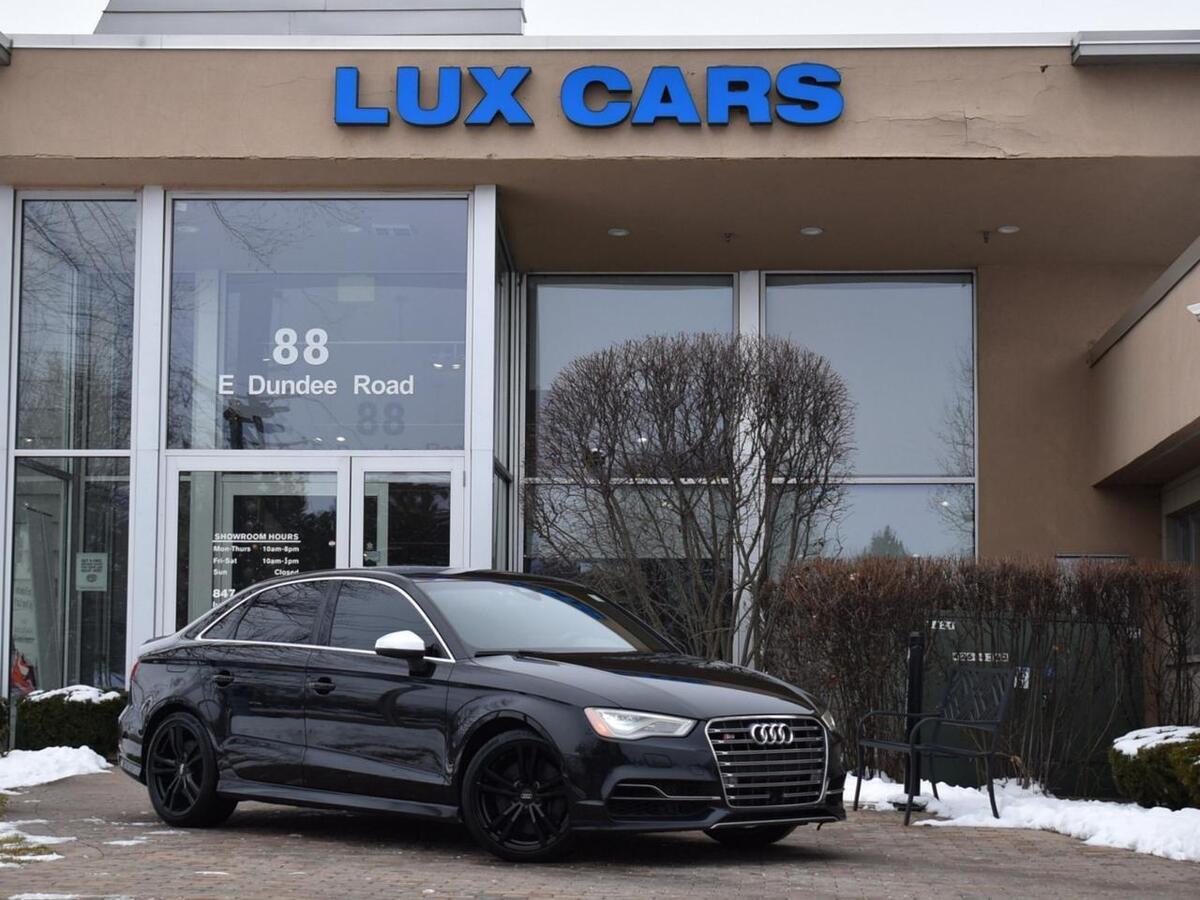 2015_Audi_S3_Prestige Technology Nav Quattro MSRP $49,890_ Buffalo Grove IL