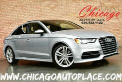 2015_Audi_S3_Sedan - 2.0L TURBOCHARGED I-4 292HP ENGINE QUATTRO AWD 1 OWNER NAVIGATION BLACK LEATHER HEATED SEATS XENONS KEYLESS GO BLUETOOTH_ Bensenville IL