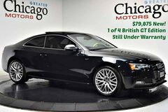 Audi S5 $79,875msrp 1 of 4 S5 British GT Like New Under Warranty~Like New 2015