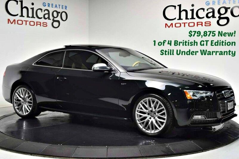2015_Audi_S5 $79,875msrp 1 of 4 S5 British GT_Like New Under Warranty~Like New_ Chicago IL