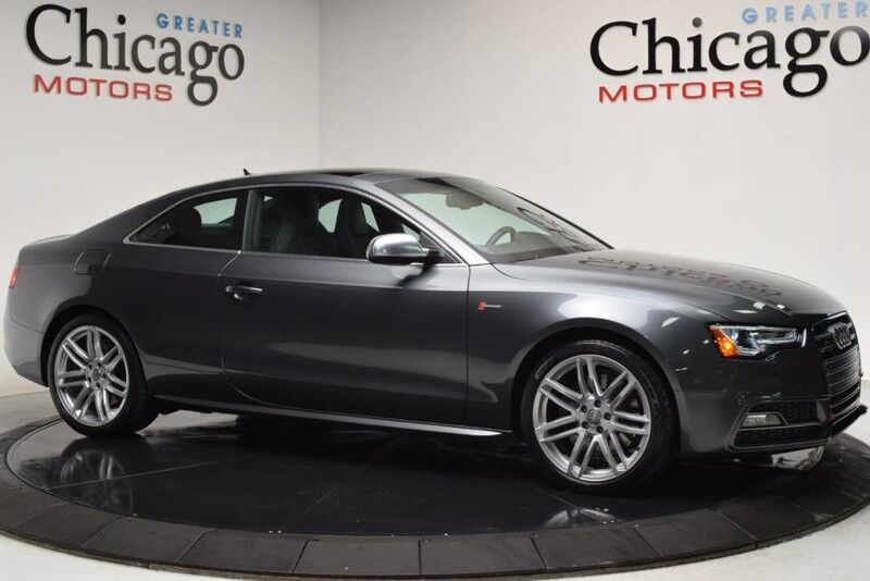 2015_Audi_S5_Premium Plus_ Chicago IL