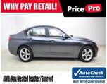 2015 BMW 328i xDrive w/Navigation & Sunroof