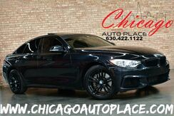 2015_BMW_4 Series_435i xDrive Gran Coupe - M-SPORT PACKAGE 3.0L 6-CYL TWIN-TURBOCHARGED ENGINE STAGE 1 ECU TUNE CUSTOM EXHAUST NAVIGATION BACKUP CAMERA PARKING SENSORS KEYLESS GO HEADS-UP DISPLAY BLACK LEATHER_ Bensenville IL