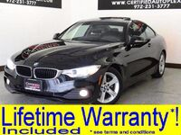 BMW 428i COUPE NAVIGATION SUNROOF LEATHER SEATS BLUETOOTH PADDLE SHIFTERS KEYLESS START 2015