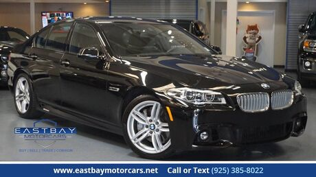 2015 BMW 5 Series 550i Driver assist plus ** M Sport ** Executive ** Luxury Seating San Ramon CA