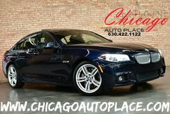 2015_BMW_5 Series_550i xDrive - M-SPORT PACKAGE 4.4L TWIN-POWER TURBO V8 ENGINE ALL WHEEL DRIVE NAVIGATION BACKUP CAMERA KEYLESS GO BLACK LEATHER HEATED SEATS_ Bensenville IL