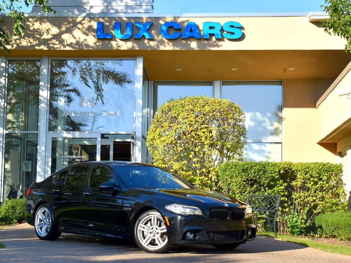 2015_BMW_550i_xDrive M-Sport Luxury Nav AWD MSRP $74,545_ Buffalo Grove IL