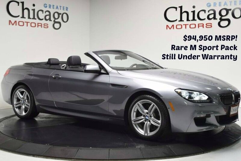 2015_BMW_640i xDrive $94,950 msrp! Loaded_1 Owner Carfax certified_ Chicago IL