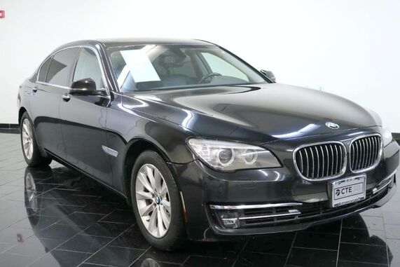 2015_BMW_7 Series_4dr Sdn 740Li xDrive AWD, 1 Owner, Clean CarFax, Navigation System, Back-up Camera, Sunroof, Heated Seats, Parking Aid,_ Leonia NJ