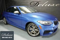 BMW M235i xDrive Coupe, Navigation System, Rear-View Camera, Bluetooth Streaming Audio, Heated Leather Seats, Power Sunroof, M Performance Exhaust, 18-Inch M Sport Alloy Wheels, 2015