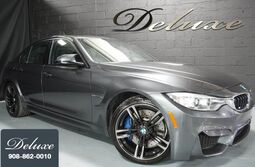 BMW M3 Sedan, Navigation System, Rear-View Camera, Harman Kardon Surround Sound, 425 HP Turbocharged Engine, 6-Speed Manual Transmission, 19-Inch M Sport Alloy Wheels, 2015