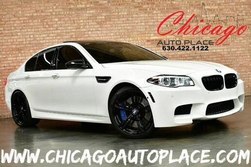 2015 BMW M5 Sedan - M TWINPOWER TURBO 4.4L V8 ENGINE REAR WHEEL DRIVE NAVIGATION SURROUND VIEW CAMERAS HEADS-UP DISPLAY BANG & OLUFSEN AUDIO BLACK LEATHER HEATED SEATS Bensenville IL
