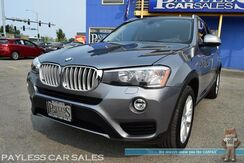 2015_BMW_X3_xDrive28i AWD / Power & Heated Leather Seats / Navigation / Sunroof / Heads Up Display / Bluetooth / Back Up Camera / Keyless Entry & Start / Low Miles / 28 MPG_ Anchorage AK