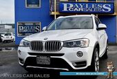 2015 BMW X3 xDrive35i AWD / 3.0L Twinpower V6 / Front & Rear Heated Leather Seats / Heated Steering Wheel / Navigation / Panoramic Sunroof / Bluetooth / Back Up Camera / Keyless Entry & Start / 26 MPG