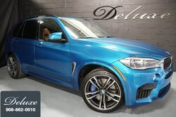 BMW X5 M xDrive, Executive Package, Driving Assistance Plus Package, Night Vision, Aragon Brown Leather Interior, 567 HP Twin-Turbo V8 Engine, 21-Inch M Sport Alloy Wheels, 2015