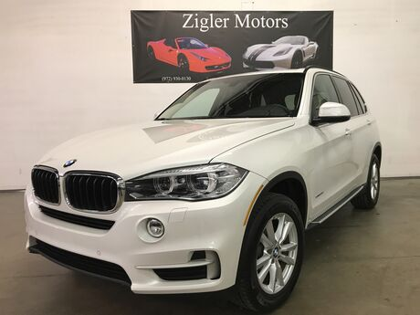 2015 BMW X5 One Owner Clean Carfax low miles xDrive35i Premium Pkg Addison TX