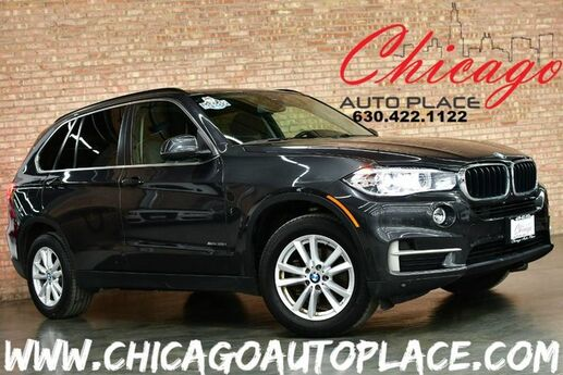 2015 BMW X5 xDrive35i - 3.0L TWINPOWER TURBO I6 ENGINE ALL WHEEL DRIVE NAVIGATION TOP VIEW CAMERAS ACTIVE BLINDSPOT COLD WEATHER PACKAGE PANO ROOF POWER LIFTGATE Bensenville IL
