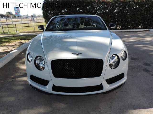 2015 Bentley Continental GT V8 S Concours Black  Austin TX
