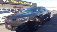 2015_CHEVROLET_CAMARO_SS, CARFAX CERTIFIED, SAT, SUNROOF, BACKUP CAM, HEATED LEATHER, NAV, 6-SPEED MANUAL, ONE OWNER!_ Norfolk VA