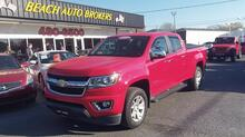 2015_CHEVROLET_COLORADO_LT CREW CAB, ONE OWNER, NAVI, BLUETOOTH, TOW PKG, BACK UP CAMERA, LEATHER, ONLY 30K MILES!_ Norfolk VA