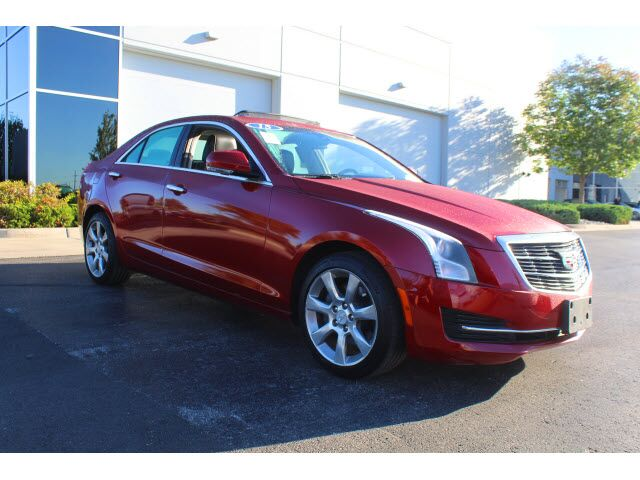 2015 Cadillac Ats 2 0t Luxury Kansas City Mo 26367266