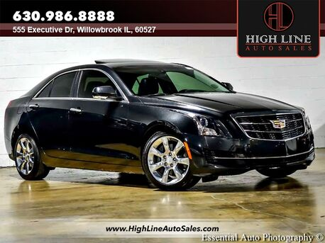 2015_Cadillac_ATS Sedan_Luxury RWD_ Willowbrook IL