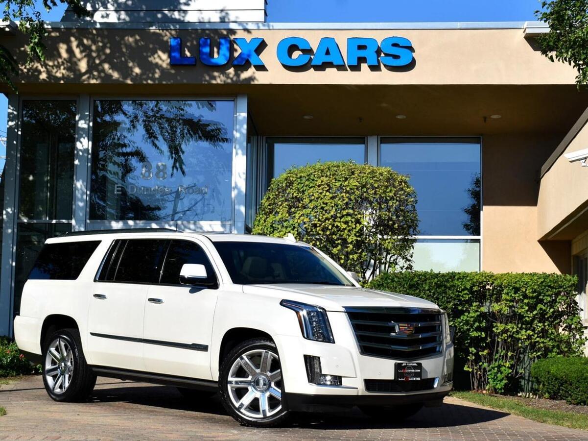 2015_Cadillac_Escalade ESV_Premium Nav Rear Dvd AWD MSRP $91,205_ Buffalo Grove IL