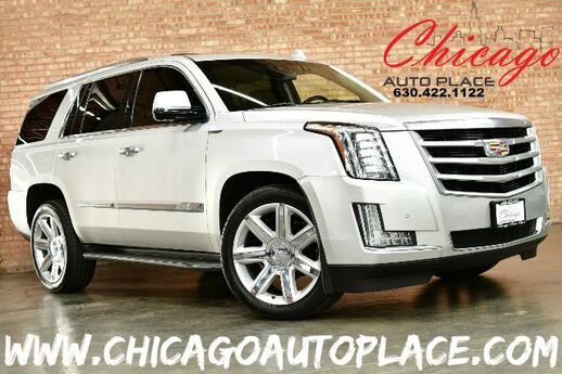2015 Cadillac Escalade Luxury - 6.2L V8 ENGINE 4 WHEEL DRIVE NAVIGATION TOP VIEW CAMERAS BLACK LEATHER HEATED/COOLED SEATS KEYLESS GO REAR TV/DVD 3RD ROW SEATING Bensenville IL