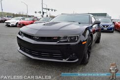 2015_Chevrolet_Camaro_SS / Performance Pkg / 6-Spd Manual / 6.2L 426HP V8 / BREMBO Brakes / Boston Acoustics Speakers / HID Headlamps / Power Seats / Bluetooth / Back Up Camera / Only 15k Miles_ Anchorage AK