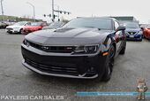 2015 Chevrolet Camaro SS / RS Pkg / 6-Spd Manual / 6.2L 426HP V8 / BREMBO Brakes / Boston Acoustics Speakers / HID Headlamps / Power Seats / Bluetooth / Back Up Camera / Only 15k Miles