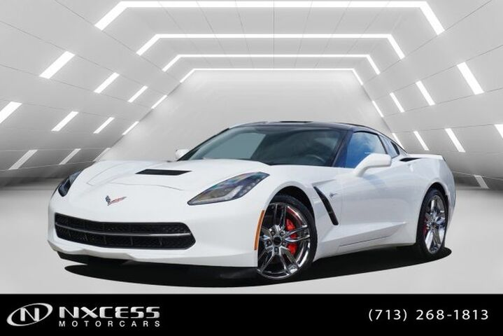 2015 Chevrolet Corvette Coupe Stinggray Z51 3LT Low Miles! Houston TX