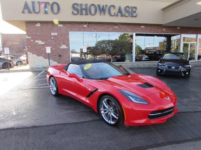 2015 Chevrolet Corvette Z51 Convertible Carol Stream IL