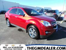 2015_Chevrolet_Equinox_2LT FWD 2.4L w/Nav HtdLeather 18sChromes Pioneer MyLink RearCamera CERTIFIED_ Milwaukee WI