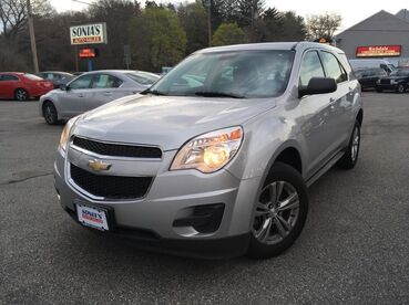 2015_Chevrolet_Equinox_LS_ Worcester MA