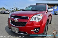 2015_Chevrolet_Equinox_LTZ / AWD / Power & Heated Leather Seats / Navigation / Sunroof / Auto Start / Pioneer Speakers / Bluetooth / Back Up Camera / Collision Alert / Lane Departure Warning / 29 MPG / 1-Owner_ Anchorage AK