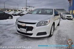 2015_Chevrolet_Malibu_LS / Automatic / Auto Start / Bluetooth/ Power Mirrors Windows & Locks / Cruise Control / Air Conditioning / Block Heater / 36 MPG / Only 18k Miles / 1-Owner_ Anchorage AK