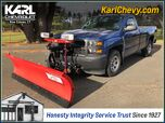 2015 Chevrolet Silverado 1500 Work Truck with Snow Plow